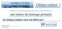 offrir un massage